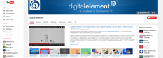 Digital Element is on YouTube
